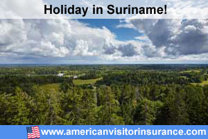 Travel insurance Suriname