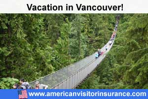 Vancouver travel insurance