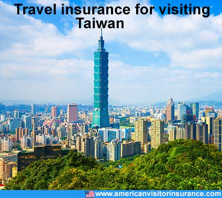 travel insurance for visiting Taiwan