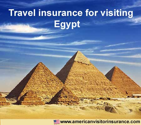 travel insurance for visiting Egypt