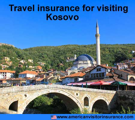 travel insurance for visiting Kosovo