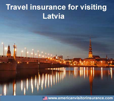 travel insurance for visiting Latvia