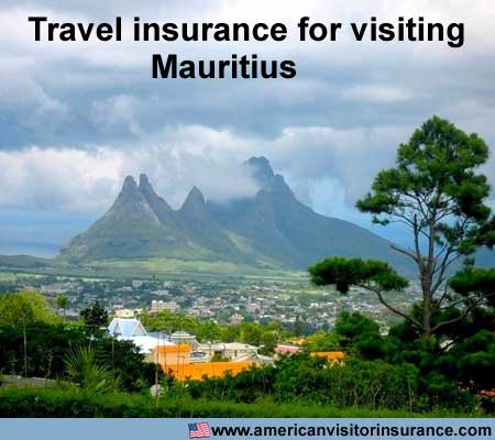 travel insurance for visiting Mauritius
