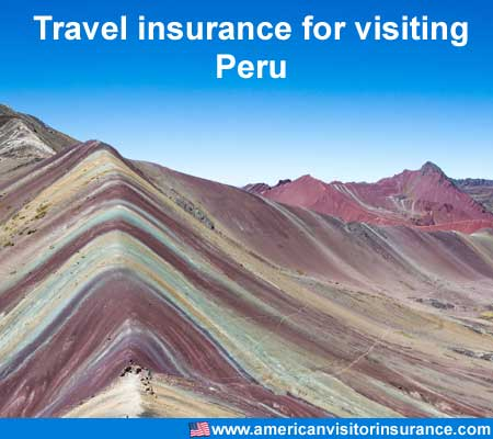 travel insurance for visiting Peru