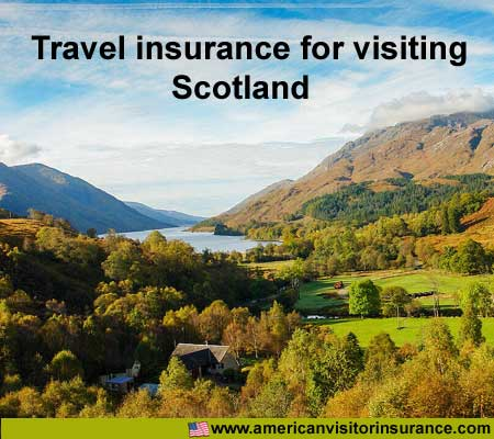 travel insurance for visiting Scotland