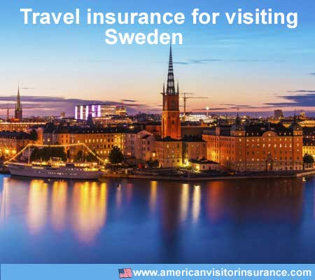 travel insurance for visiting Sweden