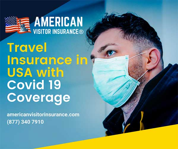 Travel Insurance in USA with covid coverage