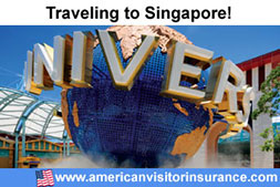 Buy visitor insurance for Singapore