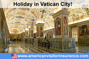 Travel insurance Vatican