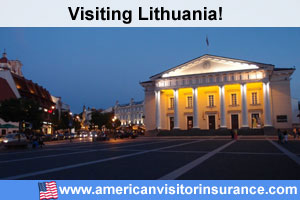 Buy travel insurance for Lithuania