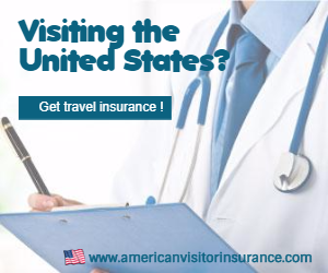 Buying visitor health insurance for USA