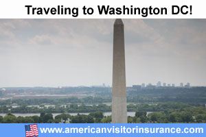 buy visitor insurance for Washington DC