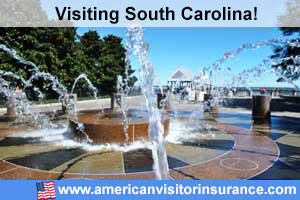 Buy travel insurance for South Carolina