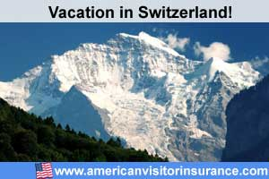 Travel insurance for Switzerland